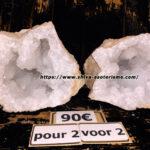 GEODE-DE-QUARTZ-LOT-DE-2-SHIVA-MAGASIN-ESOTERIQUE-MENEN-BELGIQUE-lille-france