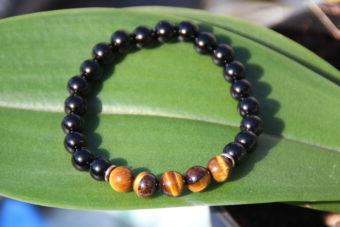 bracelet-pierre-naturelle-obsidienne-noire-oeil-de-tigre-par-shiva-esoterisme-fabrication-artisanale-belgique-france-roncq-menen-halluin