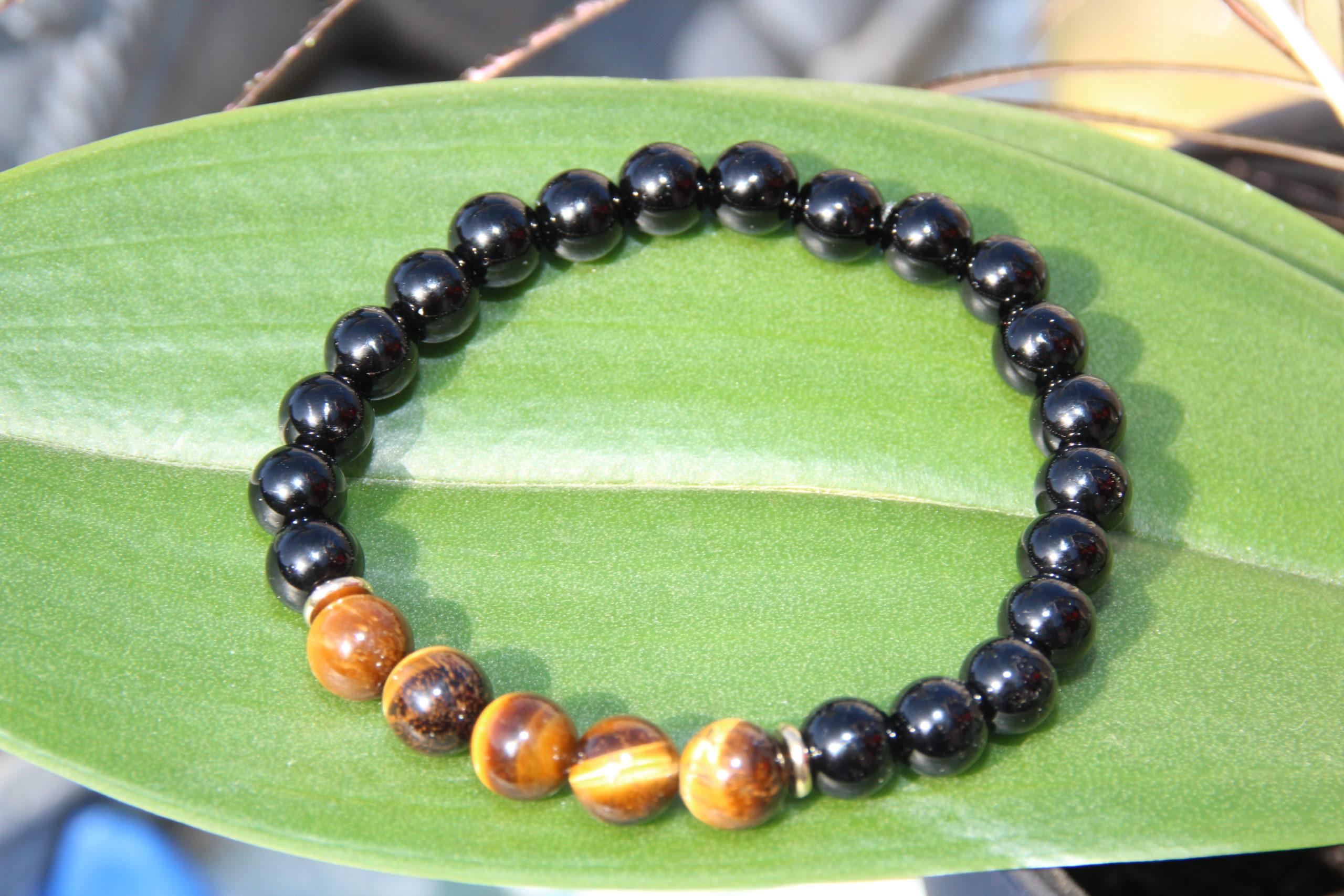bracelet-pierre-naturelle-obsidienne-noire-oeil-de-tigre-par-shiva-esoterisme-fabrication-artisanale-top-qualite-belgique