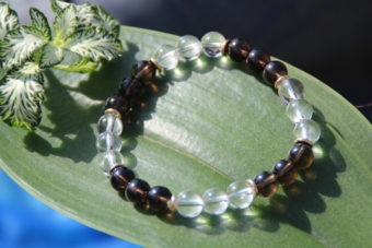 bracelet-pierre-naturelle-cristal-de-roche-et-quartz-fume-fabrication-artisanale-shiva-esoterisme-menen-halluin-france-lithotherapie-lille