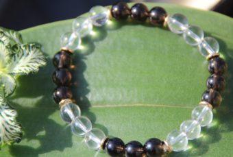 bracelet-pierre-naturelle-cristal-de-roche-et-quartz-fume-fabrication-artisanale-shiva-esoterisme-menen-halluin-france-lithotherapie-nice