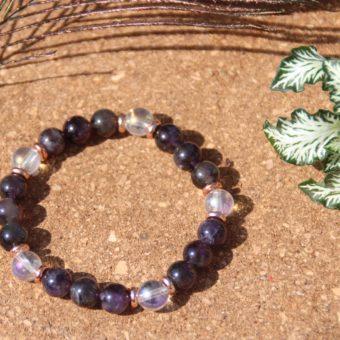 bracelet-pierre-naturelle-quartz-aqua-aura-et-amethyste-fabrication-artisanale-shiva-esoterisme-halluin-menen-belgique-france