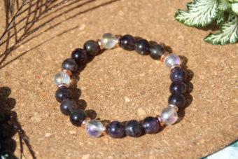 bracelet-pierre-naturelle-quartz-aqua-aura-et-amethyste-fabrication-artisanale-shiva-esoterisme-halluin-menen-france-lithotherapie