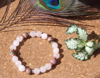 bracelet-pierre-naturelle-quartz-rose-rhodonite-fabrication-artisanale-shiva-esoterisme-lithotherapie-halluin-menen-france-belgique-paris